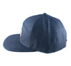 Strauss Strapback in Indigo Denim