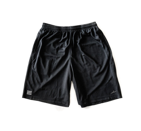 Layup Mesh Shorts in Black