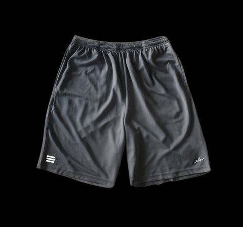 Layup Mesh Shorts in Silver