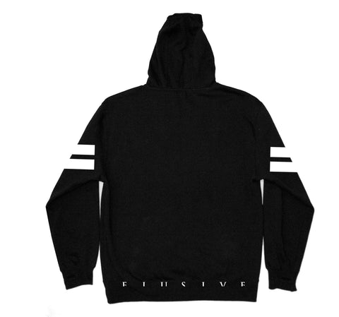 Highstick Hockey Hoody in Black