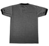 Hardball Ringer Tee in Charcoal Heather