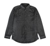Jackson Flannel L/S Shirt in Charcoal - Elusive