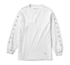 Spread Long Sleeve Tee in White - Elusive