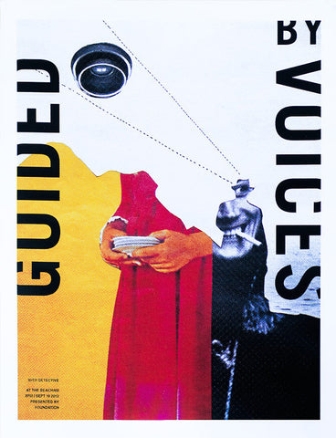 Guided by Voices Gig Music Poster