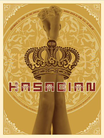 Kasabian Music Gig Poster