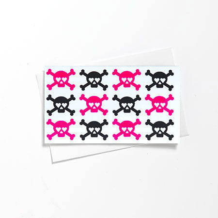 Mini Skull Love Tag Card