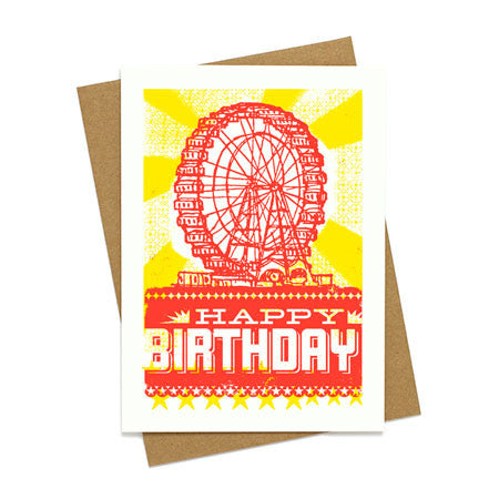 Ferris Wheel Birthday Card