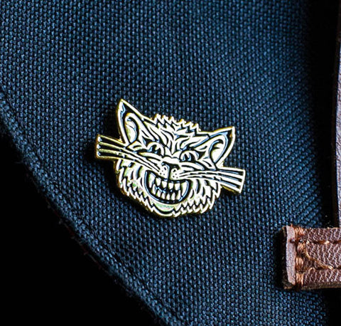 Angry Cat Pin