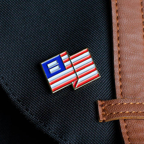 Equality in America pin