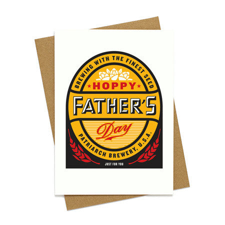 Hoppy Father's Day Beer Card