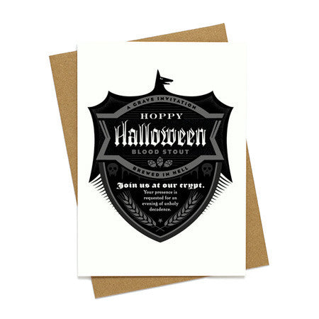 Hoppy Halloween Beer Invite