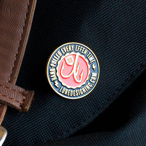 Lure Logo Pin