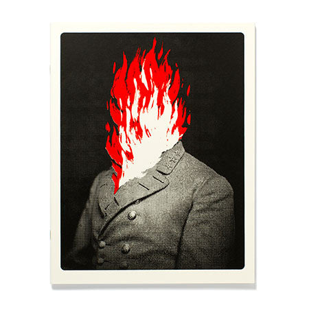 Flaming Man Large Journal