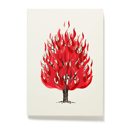 Flaming Tree Small Journal