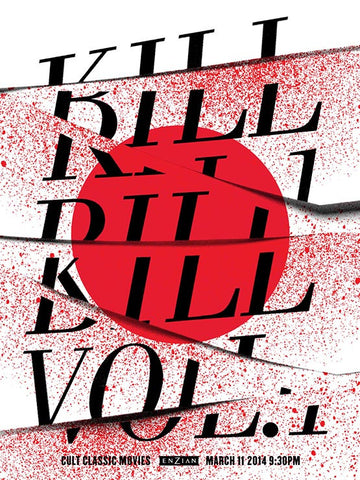 Kill Bill Volume 1 Movie Poster