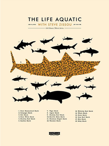 The Life Aquatic - Leopard Shark
