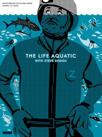 The Life Aquatic - Steve in Water