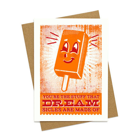 Dreamsicle Love Greeting Card
