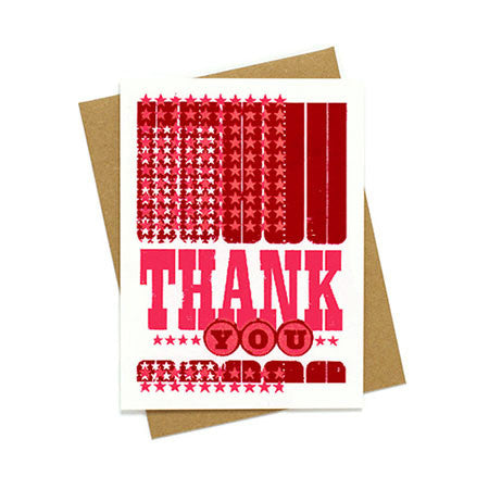 Thank You with Mini Stars