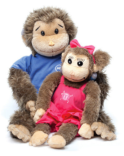 Buddy or Melody Plush Toy