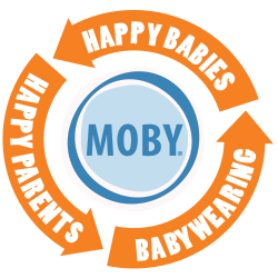 Moby babywearing happy parents happy babies