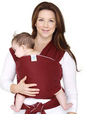 MOBY Wrap Moderns - Burgundy