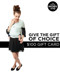 $100 MOBY Baby Shower Gift Card