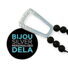 Personalized Sterling Silver Bijou Teething Jewelry