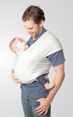 Wrap Style Baby Carrier, Cloud