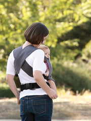 MOBY GO Gray, Half Buckle Carrier