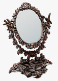 Cast Iron Bird & Vine Tabletop Mirror - Domestic Platypus