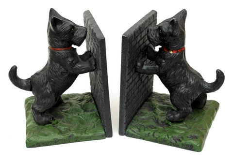 Scottie Dog Bookends - Domestic Platypus