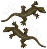 Cast Iron Luck Guardian Geckos