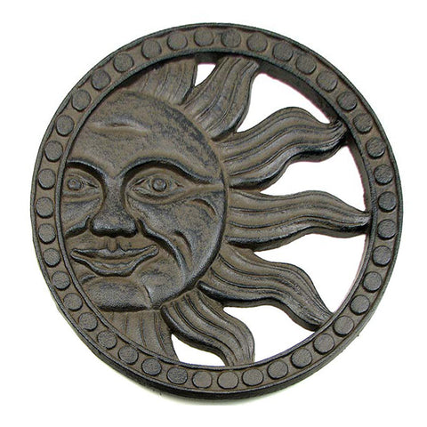 Garden Gods SUN RAYS Stepping Stone / Wall Hanging - Domestic Platypus