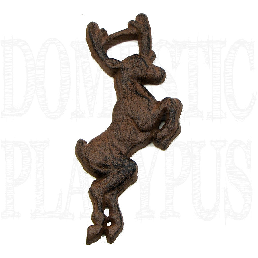 Cast Iron Deer Bottle Opener - Domestic Platypus