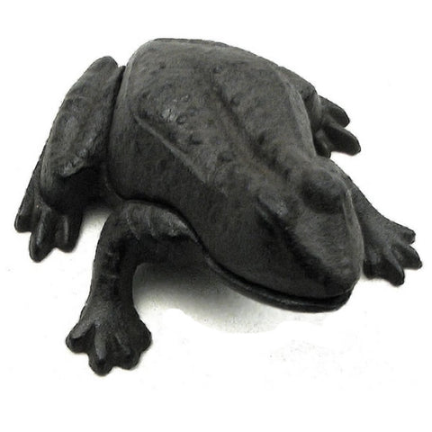 Cast Iron Frog Key Hider - Domestic Platypus