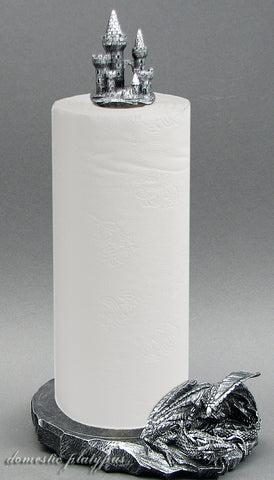 "Dragon & Castle ""Clean Keep"" Paper Towel Holder - Domestic Platypus"