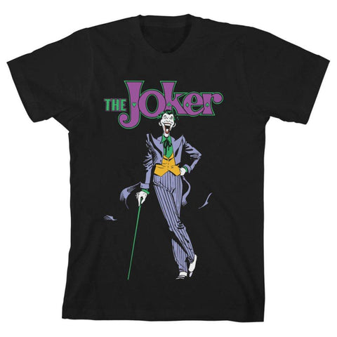 Batman Youth Classic Series Joker Youth Graphic Tee
