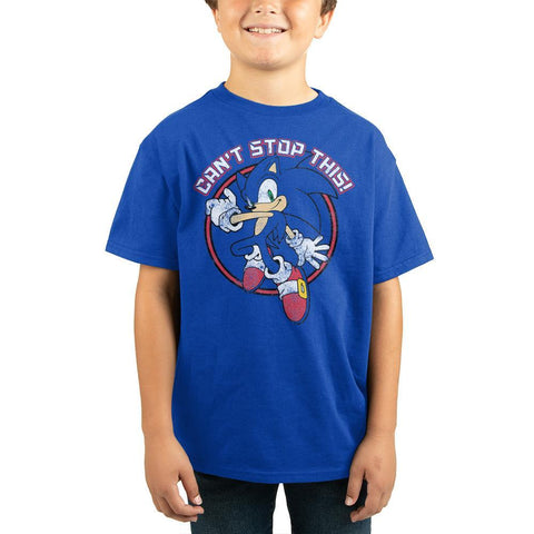 Sonic The Hedgehog Can't Stop This Youth Tee