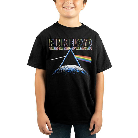 Domestic Platypus-Pink Floyd Dark Side of the Moon Youth / Kids Tee, Officially Licensed-Kids Shirt-[meta description]