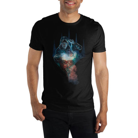 Domestic Platypus-Officially Licensed MAGIC: THE GATHERING Jace Planeswalker Graphic Tee-Shirt-[meta description]