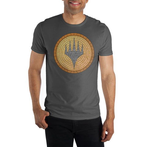 Domestic Platypus-Officially Licensed MAGIC: THE GATHERING Planeswalkers Mosaic Logo Tee-Shirt-[meta description]