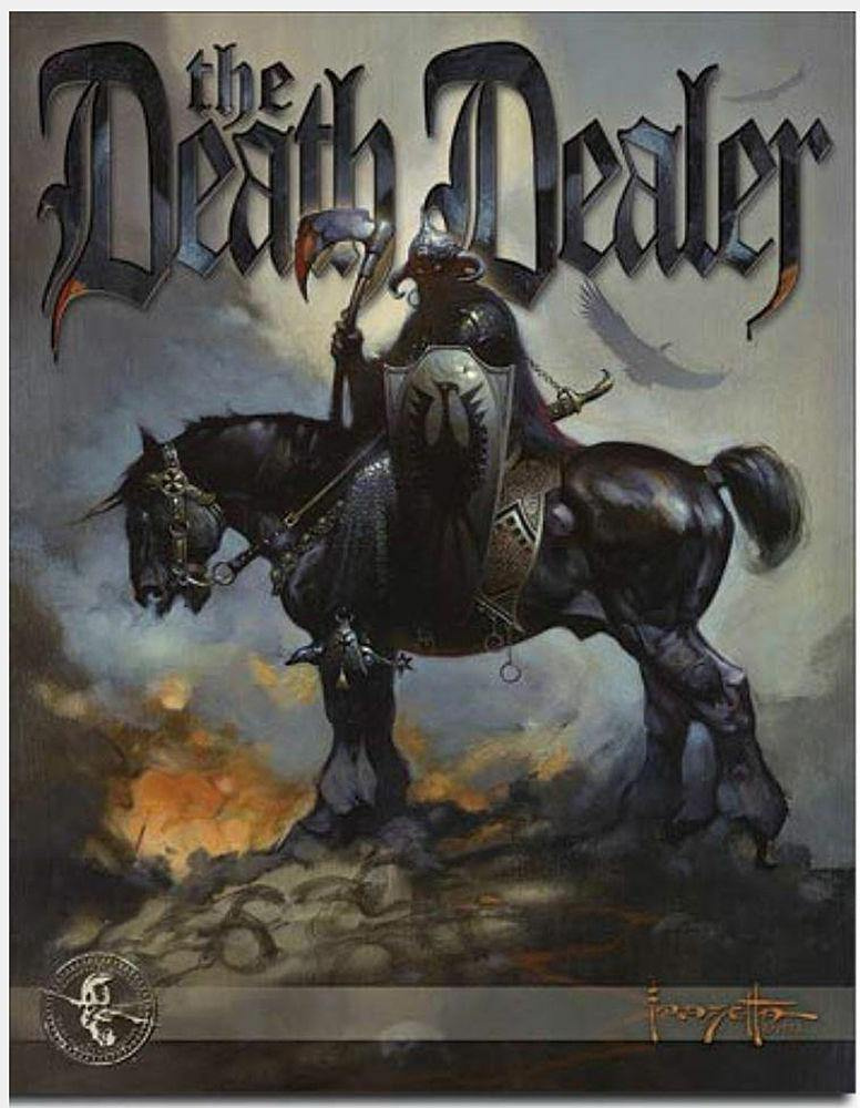Frank Frazetta Death Dealer Tin Sign