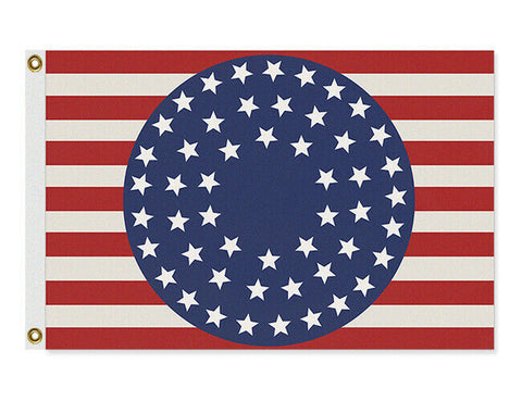 Domestic Platypus-Watchmen 51 Star USA Flag, Custom Cosplay Photo Prop Replica Banner-Flag-[meta description]