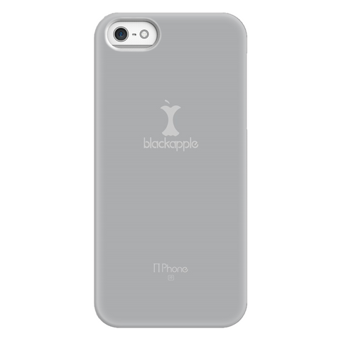 BlackApple Phone Case, Grey