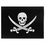 Calico Jack Pirate Jolly Roger Minky Blanket