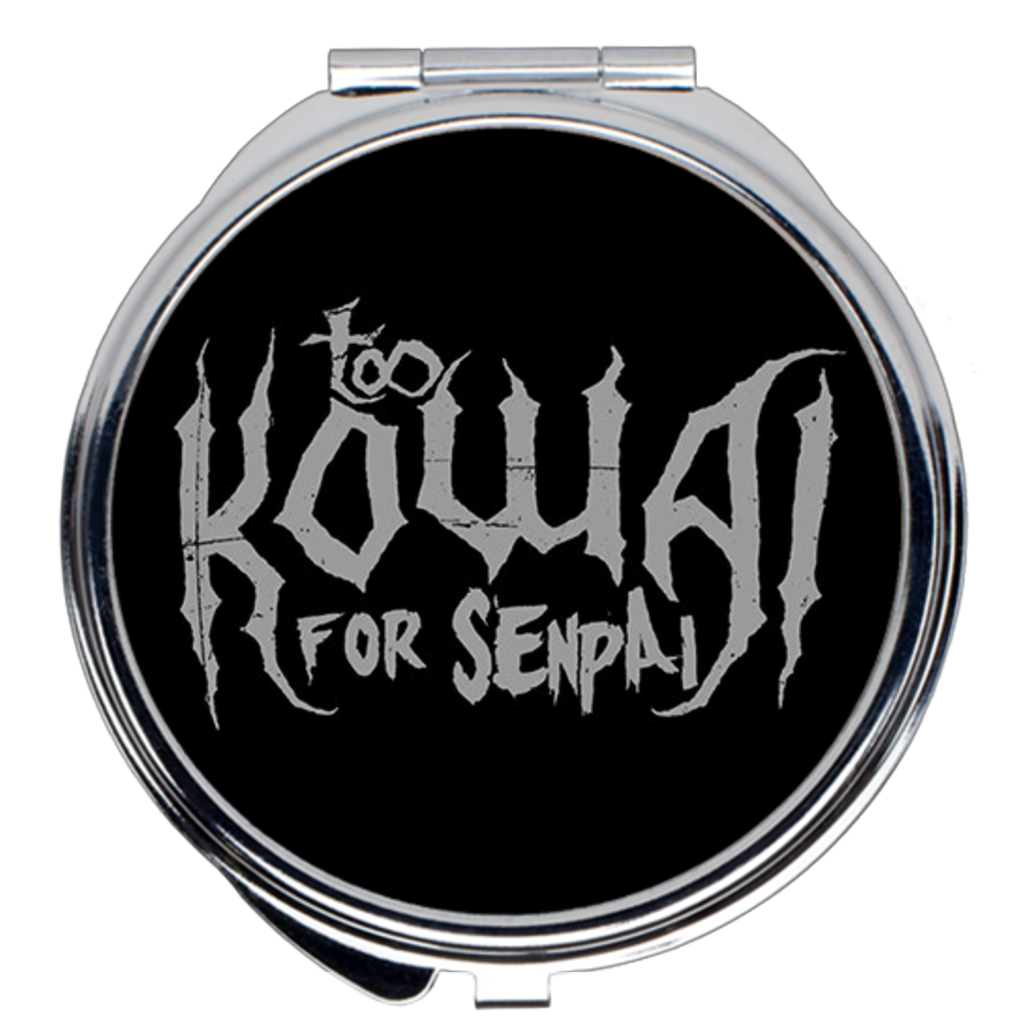 Too Kowai for Senpai Compact Mirror