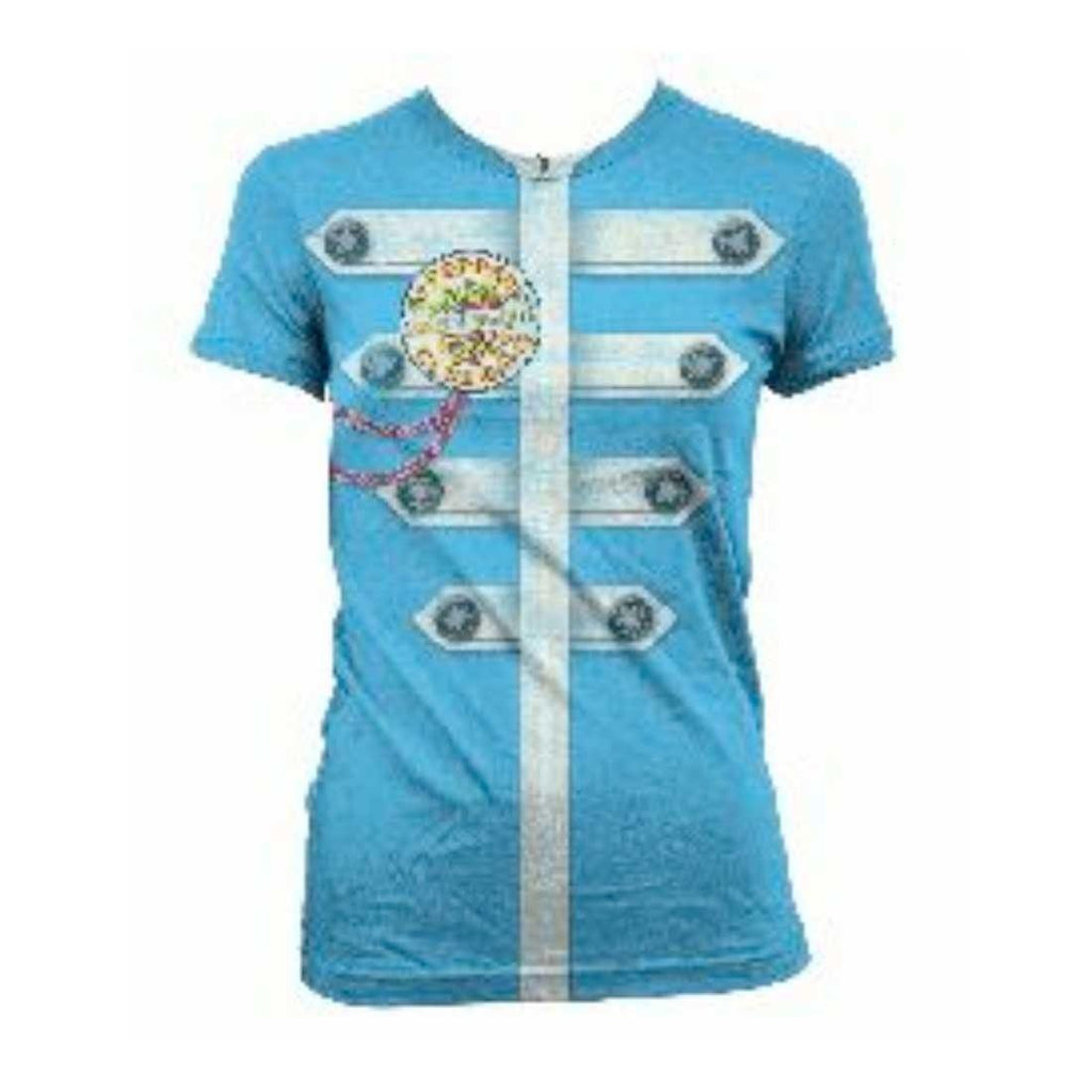 The Beatles | Sgt Peppers Blue Jacket Women's Tee