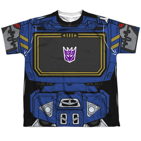 TRANSFORMERS Classic Soundwave Costume Tee, Youth Sizes