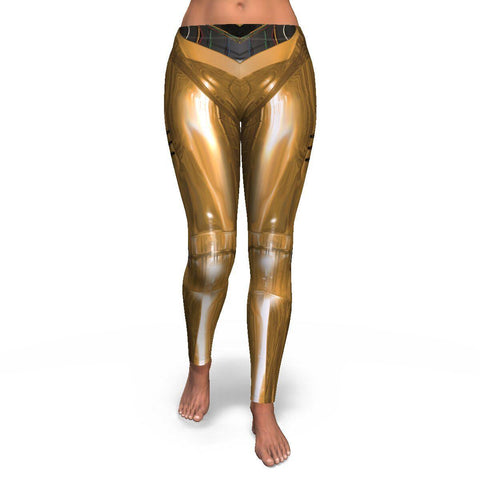 Golden Droid Leggings